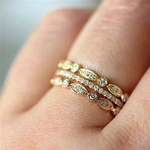 Trend Stacked Wedding Rings Say Yes Events