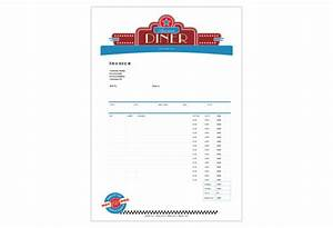 American Diner Restaurant Print Template Pack from Serif.com