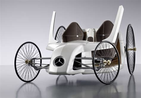 A car on which the engine and design of the one is based. The Twenty-First Century Car: First Car Ever Made