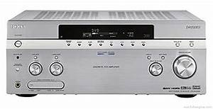 Sony Str-da1200es - Manual