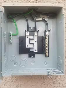 100a Subpanel For Pool  U0026 Hot Tub - Electrical
