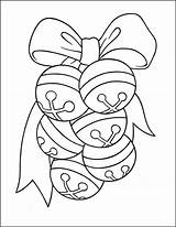 Bells Jingle Coloring Pages Christmas Thecatholickid sketch template