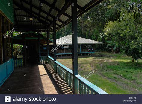 sirena ranger station costa rica corcovado national park costa rica stockfotos corcovado national park costa rica bilder alamy