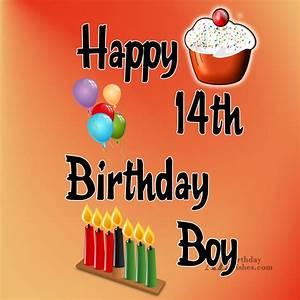 Happy 14th birthday boy…  14th