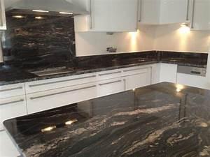 Evier Cuisine Granit : plan de cuisine granit plan de travail en granit shiva ~ Premium-room.com Idées de Décoration
