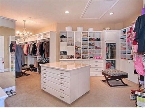 Big Wardrobe Closet by Walk In Closet Want Rooms Closet Bedroom