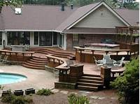 interesting pool and patio design ideas Gallery Of 35 Best Deck Designs pictures - Interior Design ...