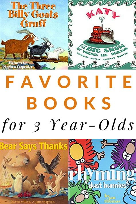 for 3 year olds 10 favorite books for 3 year olds