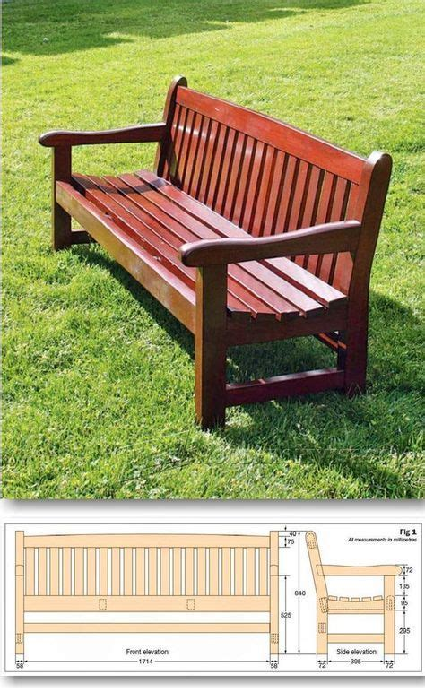 best 25 garden bench plans ideas on wooden
