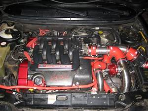 04 Ford Taurus 3l Duratec Engine Port Matched To Stock Svt