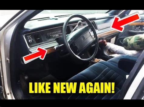 How To Make An Old Car Look Like New! (how To Clean And