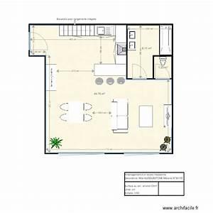 Amenagement studio environ 53m2 avec mezzanine plan 6 for Meuble cuisine pour studio 14 amenagement studio environ 53m2 avec mezzanine plan 6