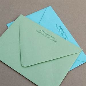 Emily weddings invitation etiquette for Return address envelopes for wedding invitations