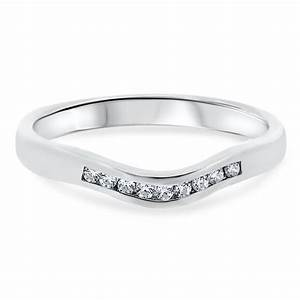 18ct white gold bar setting 15 diamonds ladies vintage With vintage white gold wedding rings