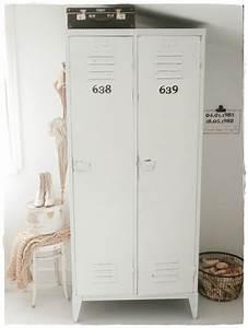 Spind Schrank Ikea : industrial locker in bedroom shabbylandhaus spind innenarchitektur und spint schrank ~ A.2002-acura-tl-radio.info Haus und Dekorationen