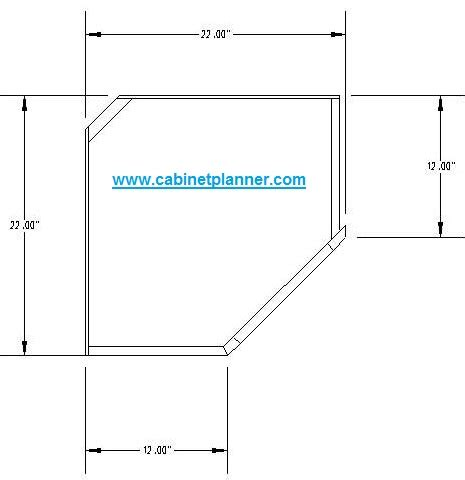 upper corner cabinet dimensions cabinet planner upper corner cabinet