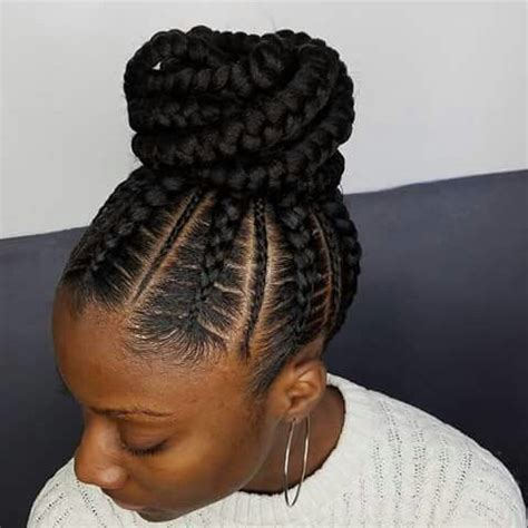Black Braiding Updo Hairstyles by 17 Best Ideas About Black Braided Hairstyles On