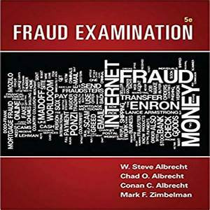 Fraud Examination 5th Edition By Albrecht Solution Manual