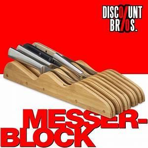 Magnetbrett Für Messer : bambus messerblock f r 9 messer haushalt k che k chenmesser co ~ Markanthonyermac.com Haus und Dekorationen