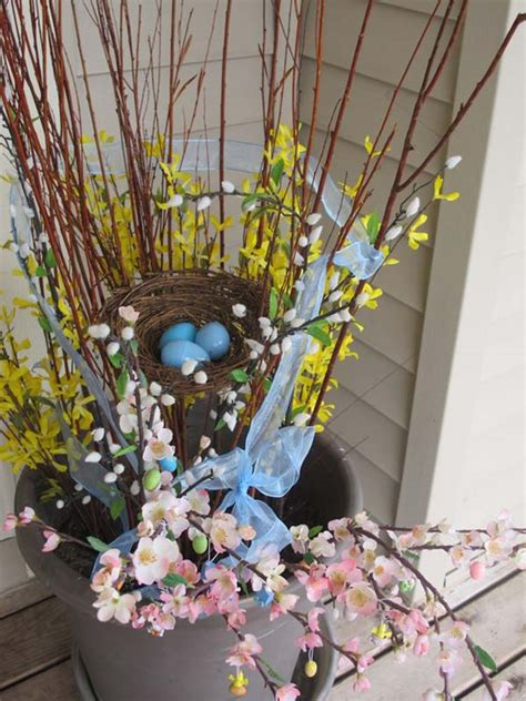 cool diy outdoor easter decorating ideas amazing diy