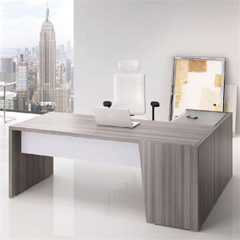 plateau bureau angle bureau angle direction bois cèdre gris clair dimensions