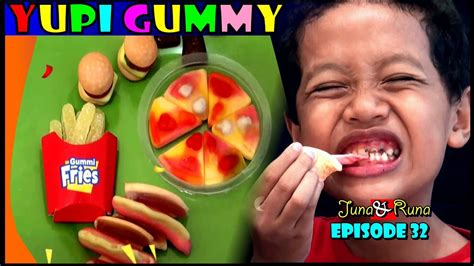 Yupi Gummy Candies Sour yupi gummy lunch reaction kreasi review yupi gummy