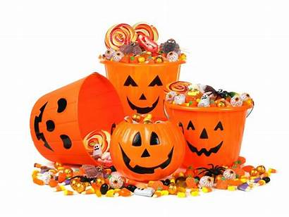 Trick Treat Halloween Candy Trunk Transparent Treating