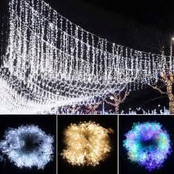 10m led string lights 70leds snowflake led tree