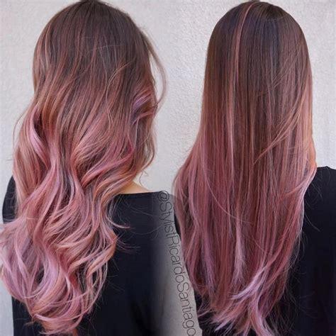 tonos del cabello  estan en tendencia