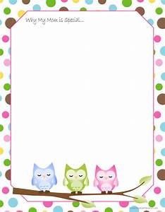 mothers day printables writing paper owl and free printable With mother s day letter template