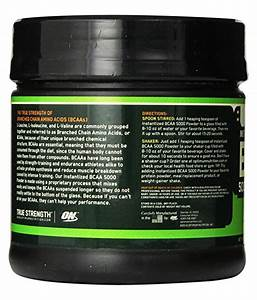 Optimum Nutrition On  Instantized Bcaa 5000 Powder 60 Servings 1 Gm  Buy Optimum Nutrition On