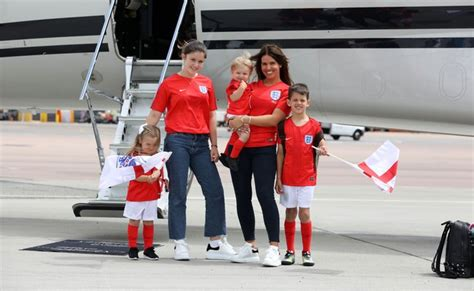 Rebekah Vardy and children land in Russia for term-time ...
