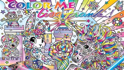 a lisa frank adult coloring book is happening scary mommy