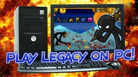 legacy pc stick war play
