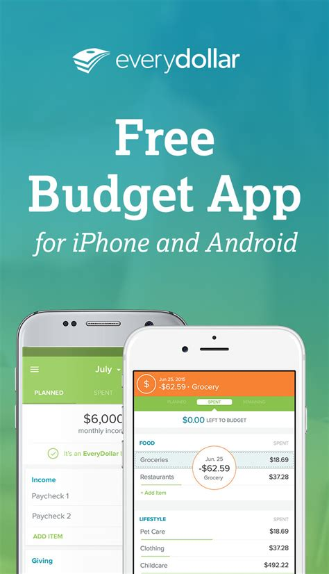 budget apps for iphone budget app for iphone and android everydollar everydollar
