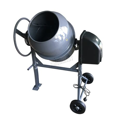 foxhunter 550w electric concrete cement mixer mortar plaster machine 120l drum eur 173 27 foxhunter 550w electric concrete cement mixer mortar plaster machine 120l drum ebay