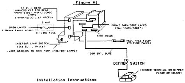 Headlight Dimmer Switch Wiring Diagram Chevy Online