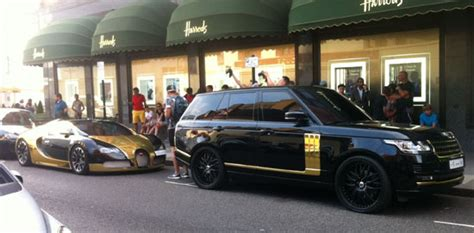 black and gold range rover picture of the week as bold as gold the steeple times