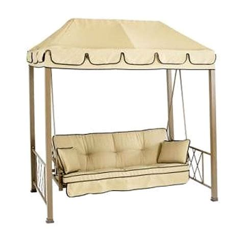 Patio Canopy Swing Home Depot by Costco Patio Swing Cushion Replacement 2017 2018 Best