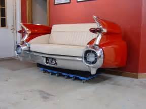 cadillac sofa new retro cars restored classic car furniture and decor american new retro automobile furniture