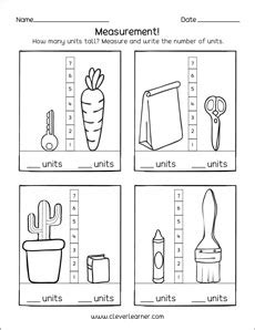 fun measurement  units  preschool