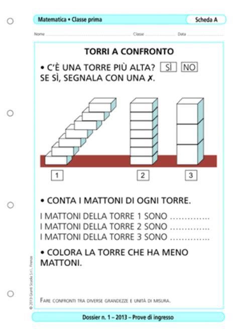 Prove D Ingresso Matematica Scuola Primaria Prove D Ingresso Matematica Classe 1 La Vita Scolastica