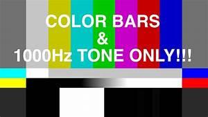 4K COLOR BARS & TONE 1 kHz - EBU / SMPTE / ARIB - YouTube