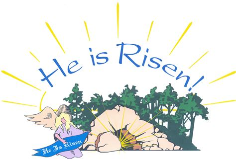 Easter Religious Clip Easter Clipart Easter Sunday Pencil And In Color Easter