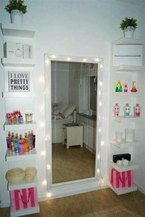 diy vanity mirror  lights  bathroom  makeup
