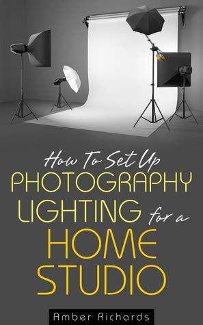 set  photography lighting   home studio