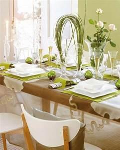 Ausgefallene Hochzeitsdeko Ideen : frische ideen f r tischdeko in gr n und wei ~ Sanjose-hotels-ca.com Haus und Dekorationen