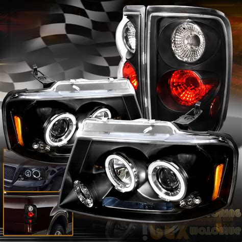 2004 ford f150 lights for 2004 2008 ford f150 led halo projector headlights w