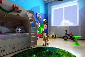 Decoration Chambre D Enfant : d corer une chambre d 39 enfant ~ Teatrodelosmanantiales.com Idées de Décoration