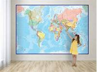 best world map wall murals Best 25+ World map wallpaper ideas on Pinterest | World ...